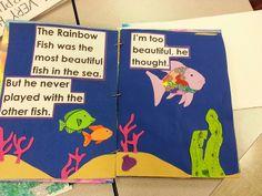 Rainbow Fish Early Childhood Program, Concordia University, Rainbow Fish, Sea Fish, Diy For Kids, Kindergarten, Doodles, Big Books, English Grammar