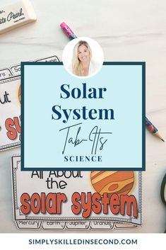 Grab this solar eclipse freebie, perfectly paired with my Solar System Tab-Its when you teach all about the solar system and space! Science Videos, Science Activities, Science Projects, Primary Classroom, Classroom Ideas, Solar Eclipse, Interactive Notebooks, Solar System, Student