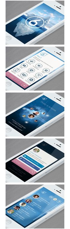 Mobile UI Design Inspiration - very simple and clean design Mobile Web Design, App Ui Design, User Interface Design, Wireframe, Iphone Ui, App Design Inspiration, Application Design, Ui Web, Software