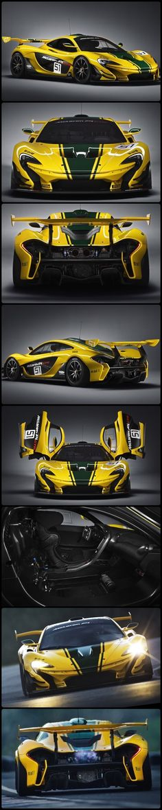 McLaren P1 GTR, a Limited Production.: