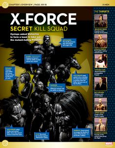 The best series in Marvel Comics history. Nobody did it better (worse? );D ) than X-Force. <3
