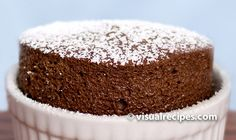 Chocolate Soufflé Recipe - Visual Recipes