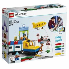 petite LEGO Education Duplo Coding Express , Fun STEM Educational Toy, Introduction to Steam Learning for Girls & Boys Steam Learning, Early Learning, Lego Duplo Train, Physical Play, Van Lego, Learning Toys For Toddlers, 21st Century Skills, Exploration, Learning Objectives