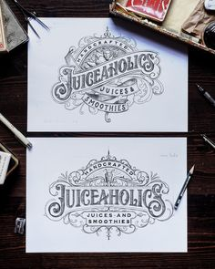 could convert and fruit hater with lettering this good! Typography Drawing, Tattoo Lettering Fonts, Lettering Styles, Typography Letters, Brush Lettering, Lettering Design, Typography Inspiration, Graphic Design Inspiration, Crea Design