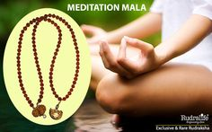 MEDITATION MALA : This Meditation mala is made of one mukhi Lord Siva Rudraksha in the center in such a way that it is exactly on the chest and 1 bead of Gauri Shankar Rudraksha which touches the spine at the back of the neck region. The combined effect of these beads on this mala is very effective is perfect for meditation, concentration and for energizing the body. These two Rudraksha are made in a Panch mukhi mala. http://www.rudralife.com/Rudraksha/details.php?id=79