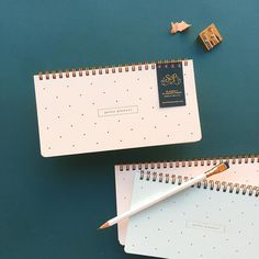 petite planner with foil