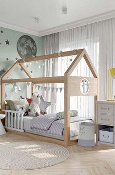 Baby Bedroom, Baby Room Decor, Girls Bedroom, Bedroom Decor, Autumn Room, Kids Room Design, Design Girl, Baby Furniture, Kid Beds