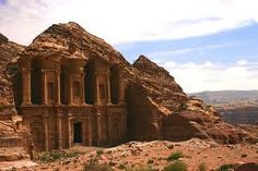 Petra. Another of the 7 wonders of the world. So cool.