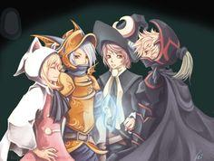 Week 3 - Final Fantasy III - Fan Art Wed - Final Fantasy III remodified.. by *Unodu on deviantART