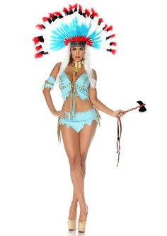 Adult Tomahawk Native American Women Costume | $44.99 | The Costume Land