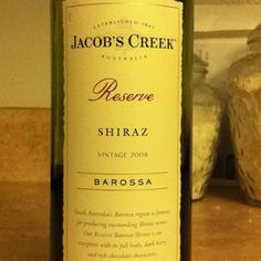 The absolute best Shiraz, EVER!!! Trust me......