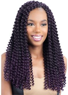 Black Girls Hairstyles, African Hairstyles, Curled Hairstyles, Crochet Hair Extensions, Synthetic Hair Extensions, Crochet Hair Styles, Crochet Braids, Box Braid Hair, Box Braids
