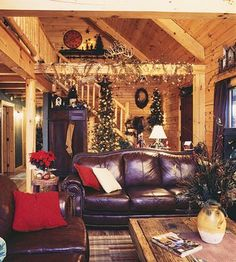 I cannot wait to decorate for our first Christmas in our new log home! :)
