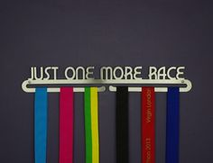 Medal display - 'just one more race' - The Flying Runner …