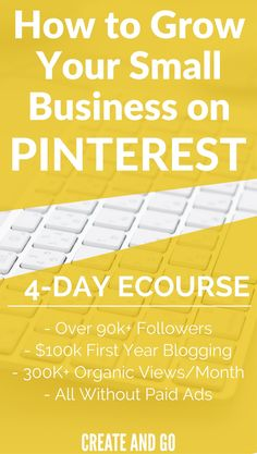 Drive Traffic to Your Blog | Pinterest Tips | Pinterest Marketing | Enter your email and get our FREE 4-Day eCourse on Pinterest for Business for Beginners: https://pinteresttrafficavalanche.com/pinterest-ecourse-optin11761313