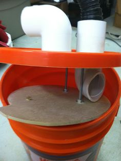 My Thien baffle - Page 2 - Woodworking Talk - Woodworkers Forum Learn Woodworking, Easy Woodworking Projects, Woodworking Plans, Repurposed Wood Projects, Diy Wood Projects, Dust Collector Diy, Shop Dust Collection, Dust Extractor, Garage Tools