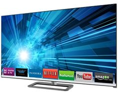 """VIZIO 80"""" Razor LED™ Smart TV with Theater 3D®   M801d-A3  Because who doesn't want a 80 inch TV in 3D!"""