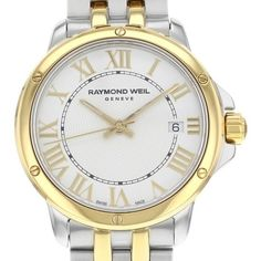 Pre-owned Raymond Weil Tango 5391-STP-00308 Stainless Steel Quartz... ($399) ❤ liked on Polyvore featuring jewelry, watches, preowned watches, crown jewelry, stainless steel wrist watch, analog watches and analog wrist watch