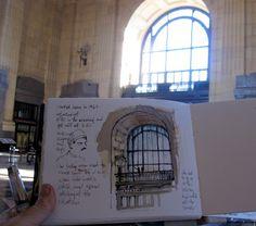 Urban Sketchers: Sketchcrawl Kansas City