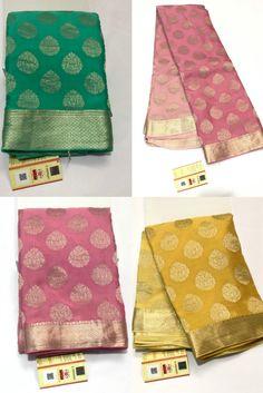 Crepe Saree, Organza Saree, Tussar Silk Saree, Chiffon Saree Party Wear, Bridal Silk Saree, Lehnga Dress, Saree Trends, Trendy Sarees, Saree Shopping
