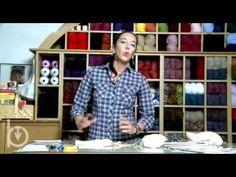 Jeux de dames, 29a puntata: finire le calze fatte a maglia - YouTube