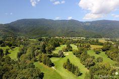 Golf de Divonne-les-Bains, France. Vidéo aérienne sur FlyOverGreen / Aerial video on FlyOverGreen