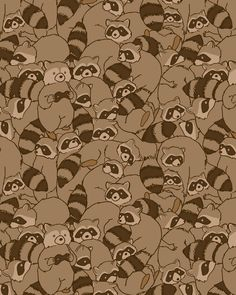 Cute Wallpapers, Wallpaper Backgrounds, Iphone Wallpaper, Pretty Art, Cute Art, Cute Raccoon, Racoon, Raccoon Art, Rocket Raccoon