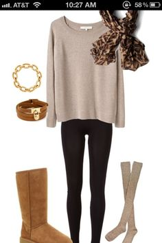 fall outfit minus the uggs cute for engagement pictures minues the ugs, maybe short calf boots