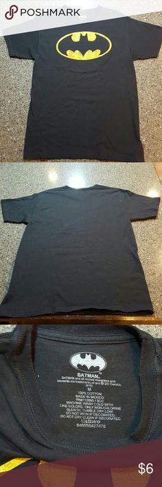 Batman the shirt Worn once last Halloween,  great shape Shirts & Tops Tees - Short Sleeve