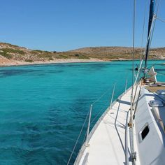 Blue lagoon Arki island, Greece Windy Day, Mediterranean Sea, Blue Lagoon, Greece Travel, Greek Islands, Crete, Lipsy, Sailing Ships, Beautiful Places
