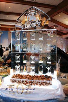 Ivanhoe Seafood Display Ice Sculpture _Weddings _Corporate Events _Food Display _Shrimp _Seafood