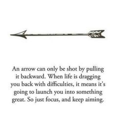 Meaning of my arrow tattoo to be