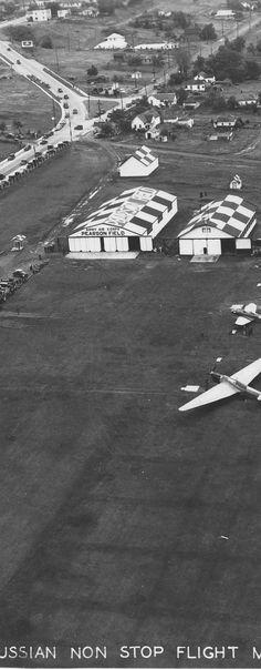 Pearson Field - Clark County: A history