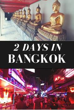 Only have 2 days in Bangkok? Here's a quick guide to Thailand's capital. Check out what to do in Bangkok, what to eat and where to stay in Bangkok.