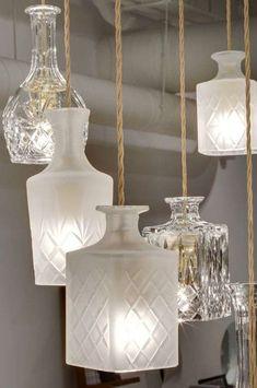 Bekijk 'Oude glazen lamp' op Woontrendz ♥ Dagelijks woontrends ontdekken en wooninspiratie opdoen!
