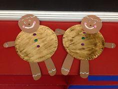 Not my gumdrop buttons! Gingerbread craft for kids