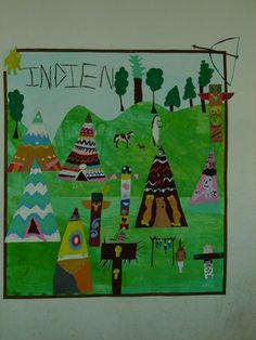 Far West : les indiens - lesptitsbricoleurss jimdo page! Art Lessons For Kids, Art Lessons Elementary, Art For Kids, Texas Western, Western Theme, Feuille A3, Aboriginal People, School Themes, Camping Room