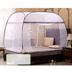 Square-roofed Mongolia Yurt Bed Mosquito Net Double Door 180 x 200 x online wholesale store features cell phone accessories for iPhone, Samsung and more at lowest prices from China. Kids Bedroom, Bedroom Decor, Kids Bed Canopy, Bed Net, Baby Room Design, Mosquito Net, Laundry Room Organization, Gothic Home Decor, Kid Beds