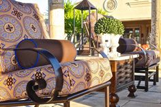 ... Unique Patio Creations. Details, Details, Details, The Fabric Can Make  The Scene. San Carlos Collection