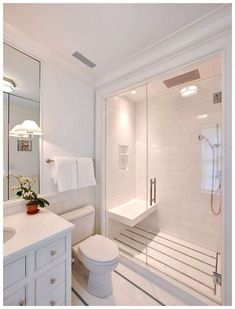 Beautiful master bathroom decor some ideas. Modern Farmhouse, Rustic Modern, Classic, light and airy master bathroom design ideas. Bathroom makeover suggestions and master bathroom renovation some ideas. Bad Inspiration, Bathroom Inspiration, Bathroom Interior Design, Modern Interior, Luxury Interior, Amazing Bathrooms, Coolest Bathrooms, Home Decor, Bathroom Remodeling