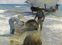Joaquín Sorolla | Valencianische Fischer, 1895. Öl auf Leinwand, 65 x 87 cm; Sammlung Broere Charitable Foundation