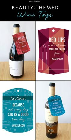 It's 5 o'clock somewhere! Next time you're having a girls' night in, check out these downloadable wine tag labels to make your party extra fun!