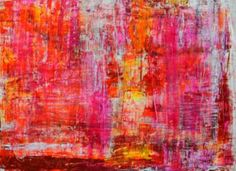 "Saatchi Art Artist Aida Markiw; Painting, ""Strawberry Field"" #art"