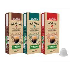 gimoka-special-variety-60-nespresso-compostable-biodegradable-coffee-capsules Big Coffee, Coffee Cans, Nespresso Essenza, Nespresso Lattissima, Nespresso Machine, Italian Coffee, Blended Coffee, Food Waste, Organic Recipes