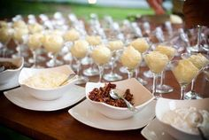 mashed potato bar