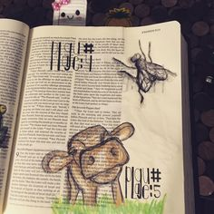 Day11a #illustratedaugust #biblejournaling #plagues