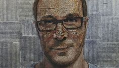 Andrew Myers creates portraits from thousands of screws