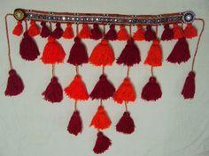 Layered tassel belt