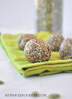Maca Energy Bites ....modify with almond joy energy bites