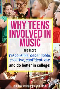 Did you know that teens who play musical instruments are more prepared for the rigors of college? They are more responsible and creative and better at problem-solving. Here are 6 ways to use music to prepare your teen for college and beyond. Music Activities For Kids, Movement Activities, Preschool Games, Brain Activities, Music For Kids, Kids Learning, Science Education, Music Education, Music And The Brain